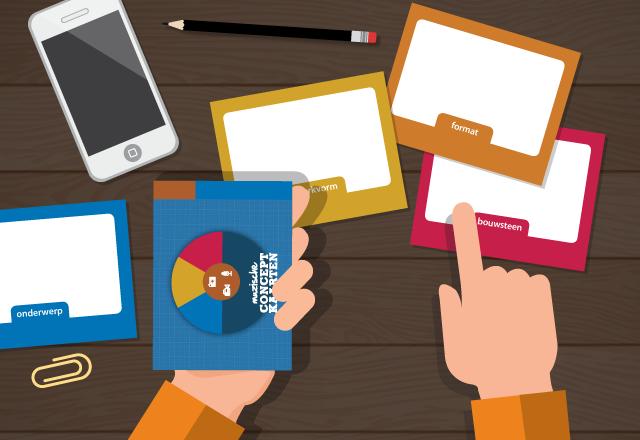 muzische conceptkaarten media