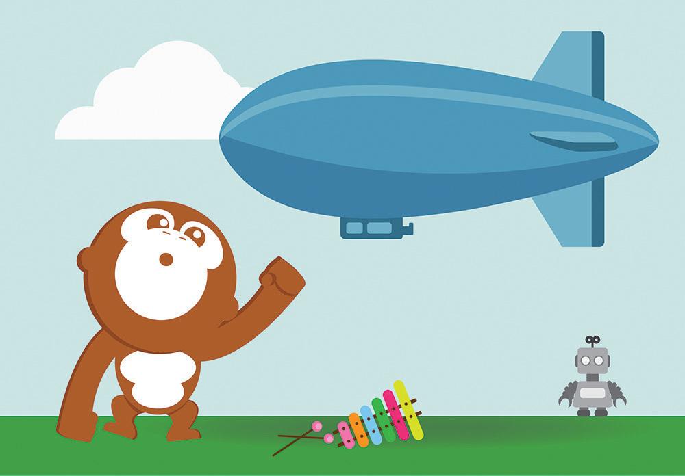 kleine zeppelin – muzisch met kleuters